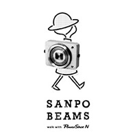 SANPO BEAMS walk with PowerShot N